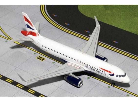 Gemini Jets British Airways Airbus A320-200(S) G-EUYV 1:200 Diecast Model G2BAW424