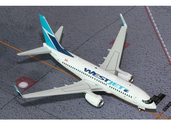Gemini Jets Westjet Airlines Boeing B737-700 C-GWJT 1:200 Diecast Model G2WJA233