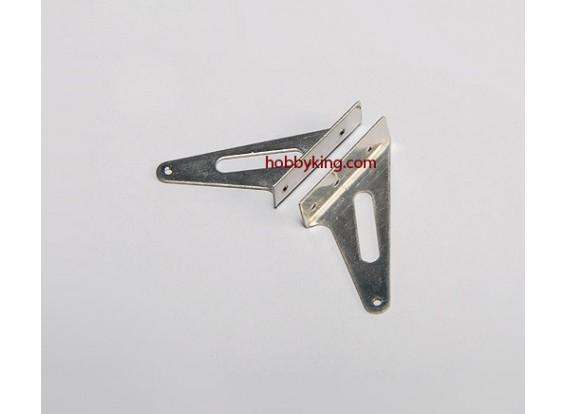 Steel Horn L31 x H30mm (1 Pair)