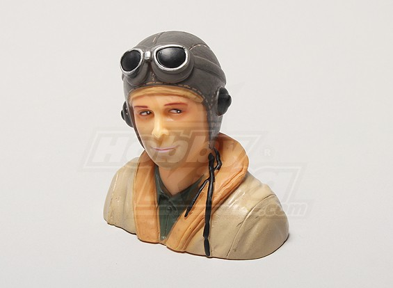 WW2/Classic Era Pilot (H64 x W66 x D35mm)