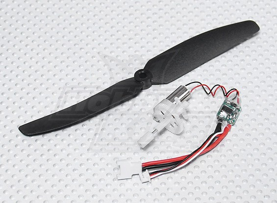 GPS-7 Micro Brushed power system combo