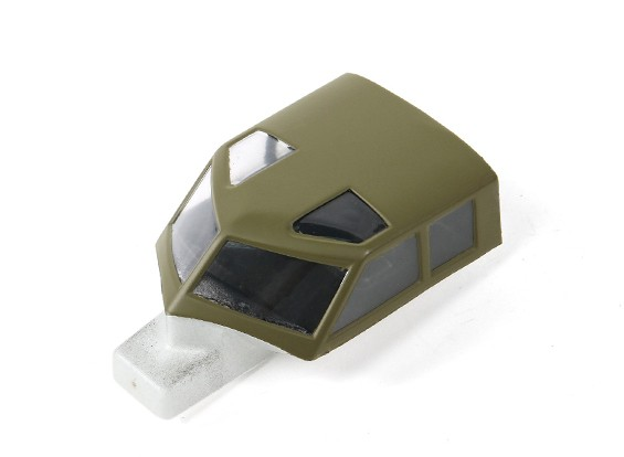 Hobbyking 1875mm B-17 F/G Flying Fortress (V2)(Olive)- Replacement Canopy/Battery Hatch