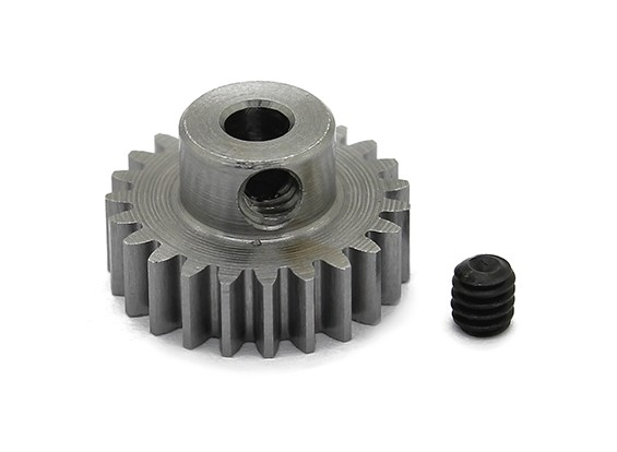 Robinson Racing Steel Pinion Gear 48 Pitch Metric (.6 Module) 23T