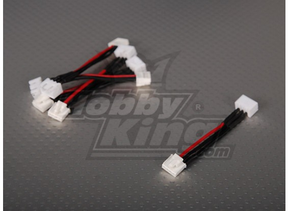 Female JST-XH <-> Male Thunderpower 2S 5cm (5pcs/bag)