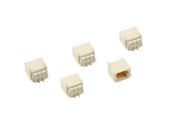JST-SH 2Pin Socket (Surface Mount) (5pcs)