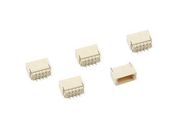 JST-SH 4Pin Socket (Surface Mount) (5pcs)