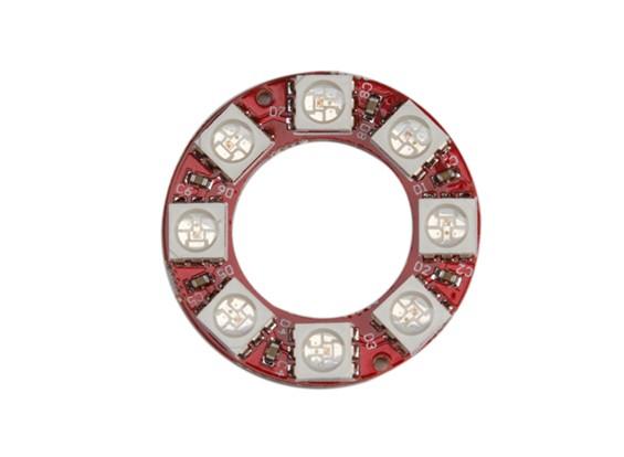 Keyes Wearable WS2812 8 LED Full Color 5050 RGB LED Ring Module