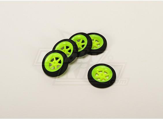 Super Light Multi Spoke Wheel D40x11mm (5pcs/bag)