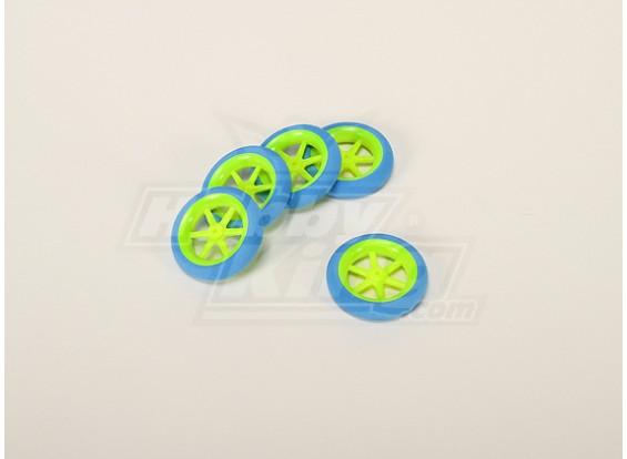 Super Light Multi Spoke Wheel D50x13mm (5pcs/bag)