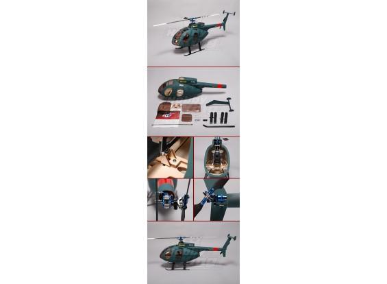 Hughes MD500 Fiberglass Fuselage for 450 size heli