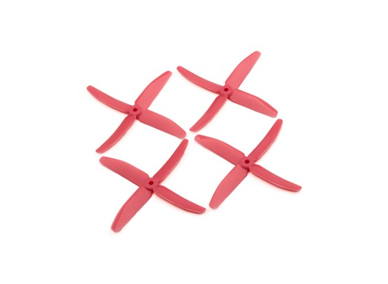 """Dalprops """"Indestructible"""" PC 5040 4-Blade Props Pink (CW/CCW) (2 pairs)"""