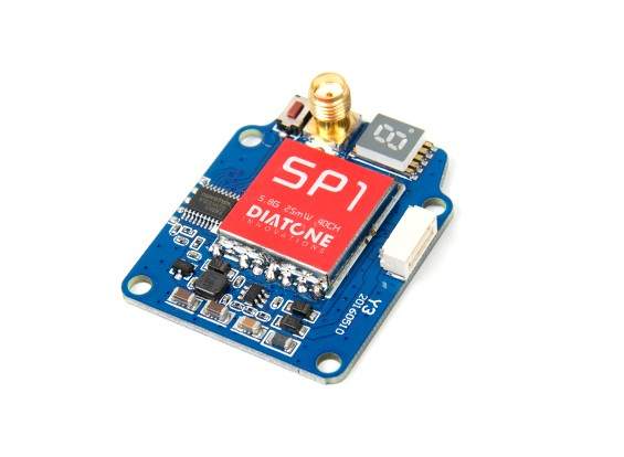 Diatone SP1 5.8GHz 40CH 25mW Video Transmitter