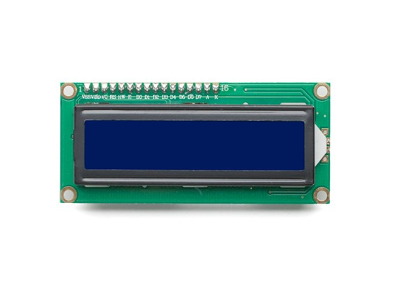 Kingduino IIC/I2C 1602 LCD Module with Yellow/Green Display