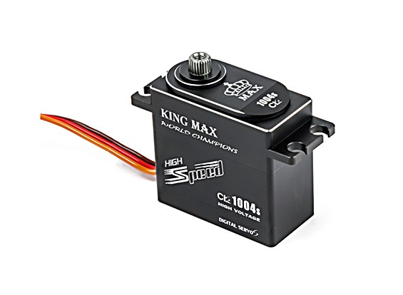 King Max CLS1004s High Torque/BB/DS/MG Servo 25T w/Alloy Case 10kg/0.04sec/71g