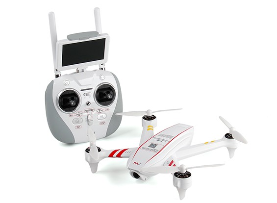 JYU Hornet S 280mm GPS Racing Quadcopter w/FPV Camera and Monitor (RTF)