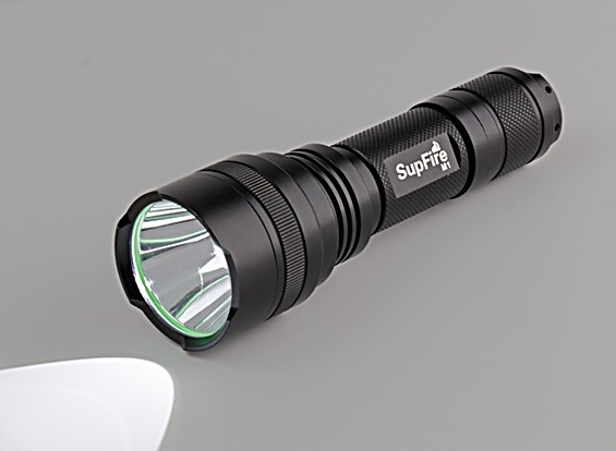 SupFire M1-XPE High Power Tactical CREE LED Flashlight (AAA / 18650)