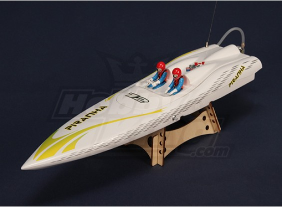 Piranha 400 Brushless V-Hull R/C Boat (400mm)