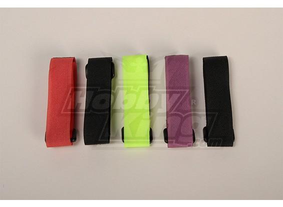 Battery Strap 300X20mm (4 Colours) (5pcs/bag)