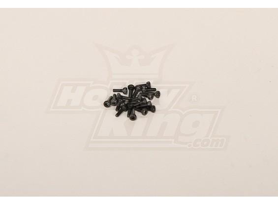 Screw Socket Head Hex M2x6 (20pcs)