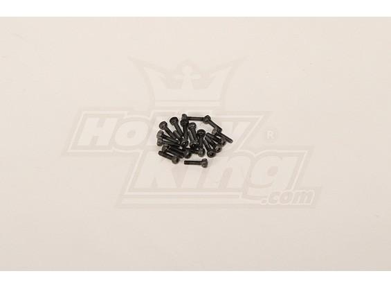 Socket Head Cap Screw M2x8mm (20pcs)