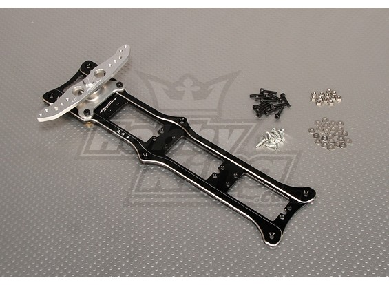 CNC Rudder 3_Tray 4.0inch (M3) Black