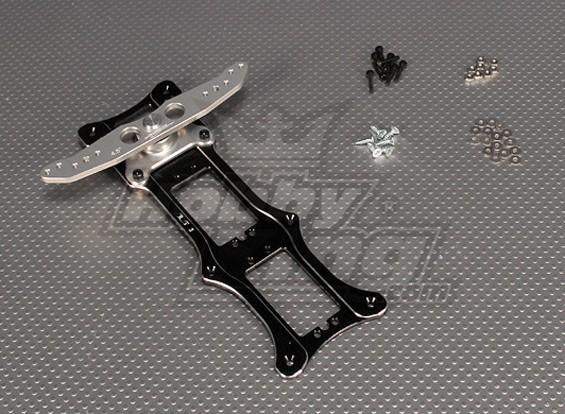 CNC Rudder 2_Tray 4.5 inch (#4-40) Black