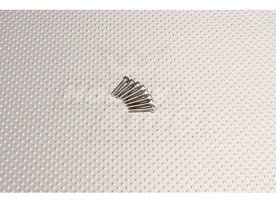 CNC SUS Inch Bolt #4 40x5/8 Silver