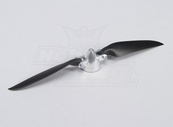 Folding Propeller W/Alloy Hub 35mm/3.17mm Shaft 9x6 (1pc)