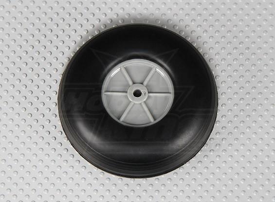Rubber Wheel 76mm (3.0in)