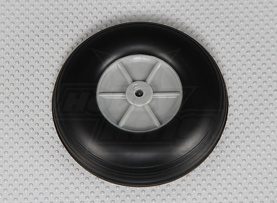 Rubber Wheel 101mm (4.0in)