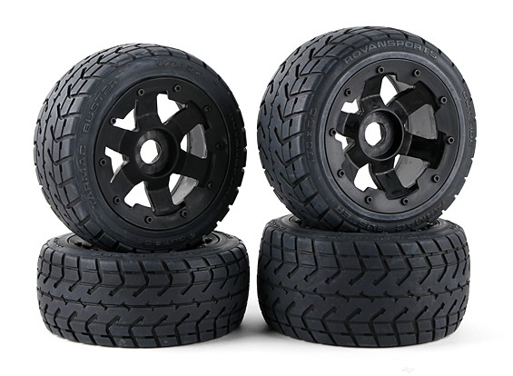 On Road Wheel and Tire set (4pcs/set) - 260 and 260S