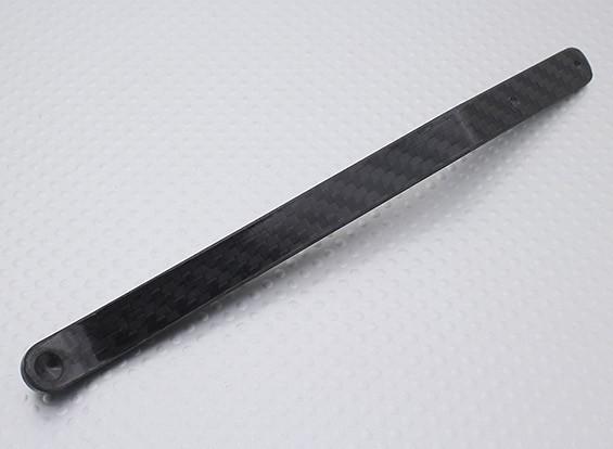 Carbon Fibre Tail Wheel Bracket - Up to 150CC Models