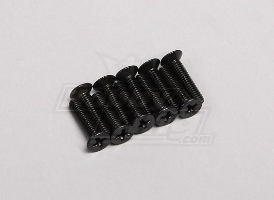 Screw Countersunk Phillips M4x18mm (10pcs/pack)