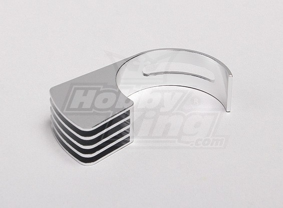 35mm Aluminum Side Mount Heat Sink (for 540,550,560 motor) (Small)