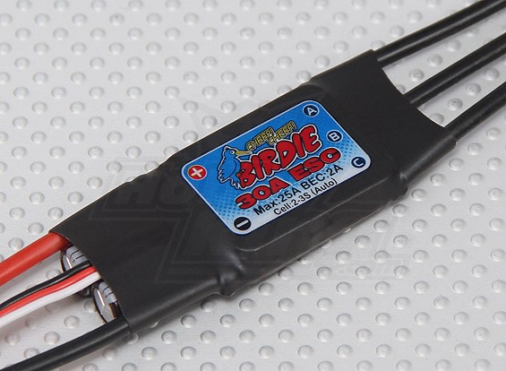 Birdie 30A Brushless ESC w/ 2A BEC
