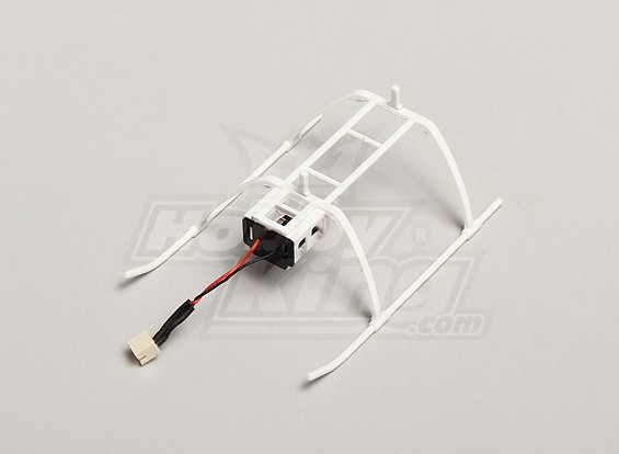 Replacement Landing Skids and Battery Mount - Solo Pro 270