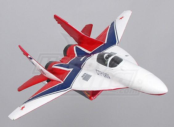 MIG-29 twin 35mm EDF Micro Jet EPO (PNF)