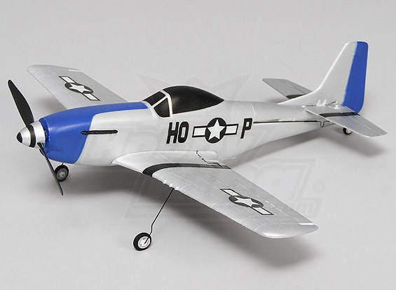 P-51 Mustang Ultra Micro 4CH 400mm (Bind and Fly)
