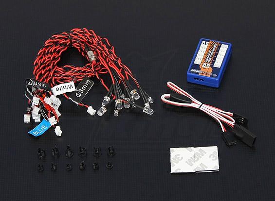 Hobbyking Scale Car LED Light system Advanced
