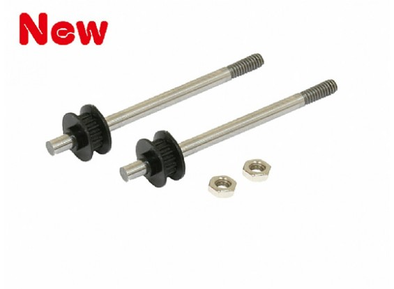Gaui 100 & 200 High Performance Tail Output Shaft Set(for belt version)