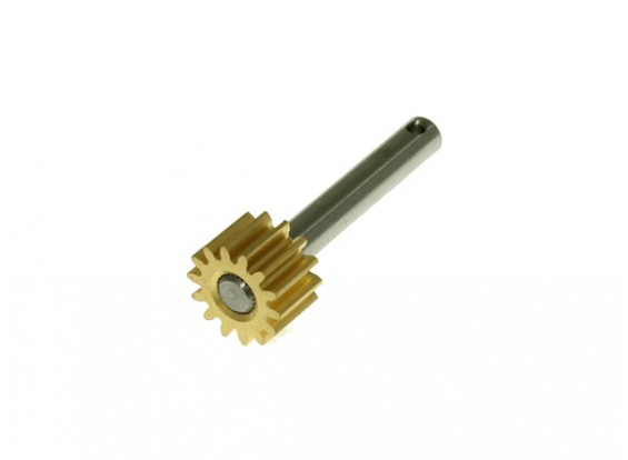 Gaui 425 & 550 Pulley Shaft with 14T Brass Gear