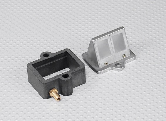 RCGF 50cc Replacement Reed Block and Manifold