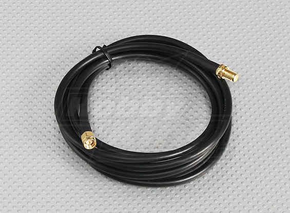 RG58 Patch Cable SMA Female to SMA Male (2 Meter)
