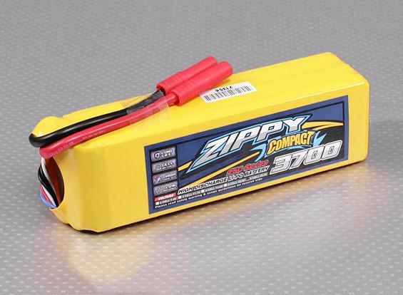ZIPPY Compact 3700mAh 6S 25C Lipo Pack
