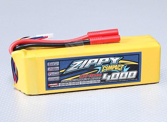 ZIPPY Compact 4000mAh 6S 25C Lipo Pack