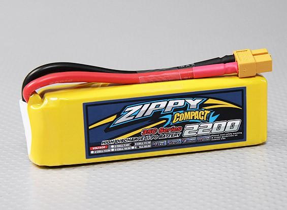 ZIPPY Compact 2200mAh 3S 35C Lipo Pack