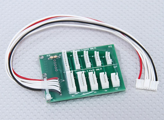 Fatboy 8 2~6S JST-EH/JST-XH Balance Adaptor Board