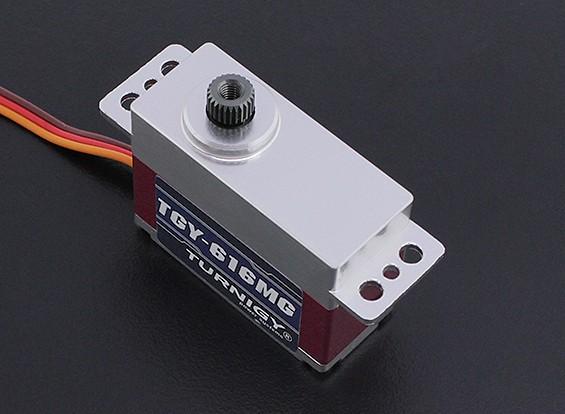 Turnigy™ TGY-616MG Ultra Fast BB/DS/MG w/Alloy Case 25T 6.6kg / 0.05sec / 34g