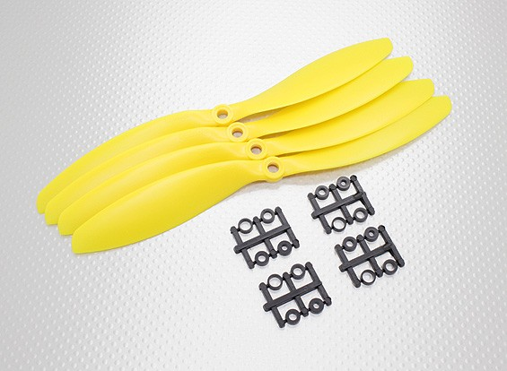 Hobbyking&#8482 Propeller 9x4.7 Yellow (CW) (4pcs)