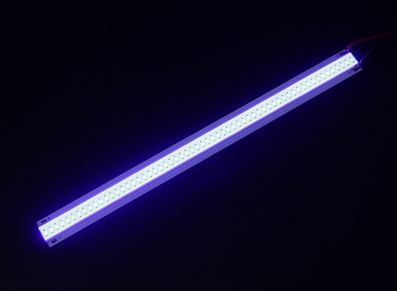 5W Blue LED Alloy Strip 150mm x 12mm (3s Compatible)